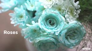 teal flowers how to dye flowers any color you want