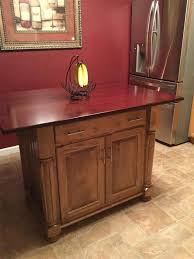 amish made kitchen islands amish made kitchen island with closed storage
