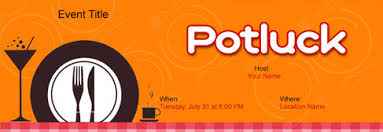 free potluck invitation with india s 1 tool