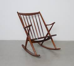 Rocking Chair Makers Mid Century Teak Rocking Chair By Frank Reenskaug For Bramin For