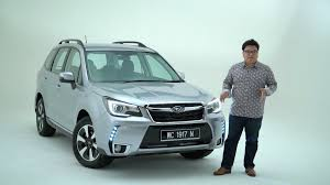 subaru forester price 2016 subaru forester facelift malaysian walk around paultan org