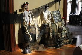 halloween pirate party pirates basking in the sun pirate party barrels skeletons