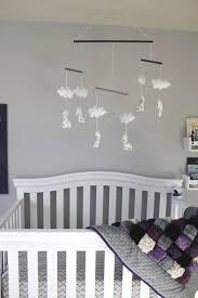 a cute purple nursery reveal for a baby