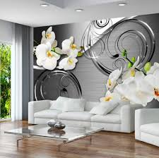photo wallpaper wall murals non woven 3d modern art floral zoom