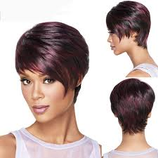 hairstyles mixed layered short hairstyles straight sexy ladies red mixed black bob