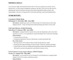 Resume Objective Call Center Download Resume Objective Examples Customer Service