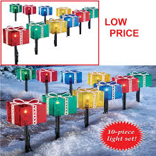 yard lighted gifts 10pcs decoration path lights
