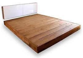 Mattress For Platform Bed Co Op Eco Modern Platform Bed And Optional Storage Headboard