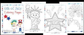 4th of july coloring pages patriotic unit study resources year