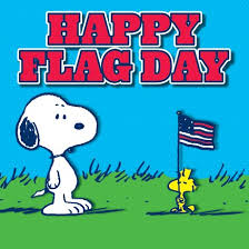 happy flag day snoopy peanuts peanuts shareables