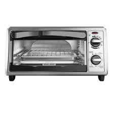 Black And Decker Home Toaster Oven Black Decker 4 Slice Stainless Steel Toaster Oven To1332sbd The