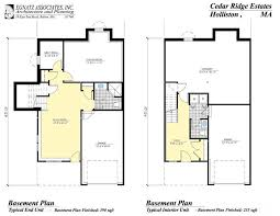 Home Plans With Basement Floor Plans Basement House Plans