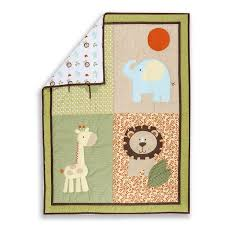 Dream On Me Portable Crib Mattress by Amazon Com Dream On Me 3 Piece Crib Bedding Set Safari Animals
