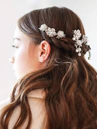 hair accessories for beautiful bridal hair accessories for the big day stylight