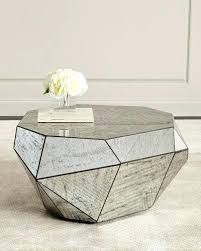 solid marble coffee table solid marble coffee table dimensional antiqued mirror coffee table