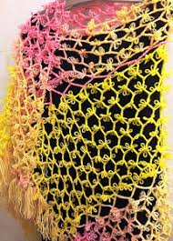 broomstick crochet beautiful broomstick lace 10 free patterns using a needle and hook