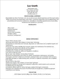 Automotive Resume Template 100 Automotive Resume Best 25 Resume Objective Examples Ideas