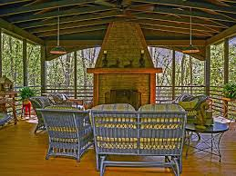 Outdoor Furniture Asheville by Stunning Square Log Home 10 Minutes North Vrbo