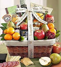 condolences gift sympathy gift baskets gourmet comfort food 1800flowers