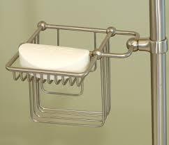 Clawfoot Bathtub Caddy Riser Mount Shampoo U0026 Soap Holder
