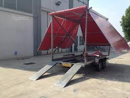 carrello porta auto usato vendesi carrello porta auto chiuso caravan e cer usati in vendita bergamo