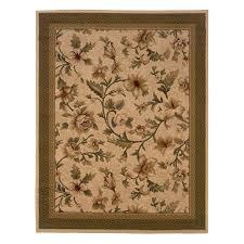 7x10 Rugs Shop Oriental Weavers Of America 7 U0027 X 10 U0027 Floral Ivory Area Rug At