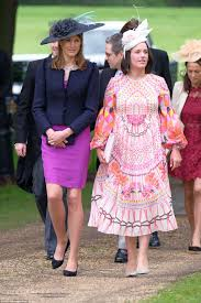 pippa middleton wedding princess eugenie shines event daily