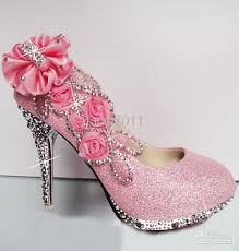 wedding shoes pink cheap hot 2016 diamond wedding the wedding shoes high heel