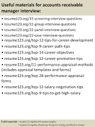 Accounts Receivable Sample Resume by Top 8 Accounts Receivable Manager Resume Samples