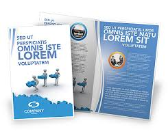 free brochure templates offshore development brochure template