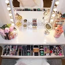 organize vanity table home furnishings
