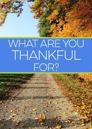 what are you thankful for frugal