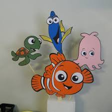 Finding Nemo Centerpieces by Items Similar To Finding Nemo Birthday Party Baby Shower