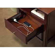 10 best night stands with outlets images on pinterest bedside
