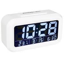 Minimalist Alarm Clock by Clocks U0026 Alarm Clocks Kmart