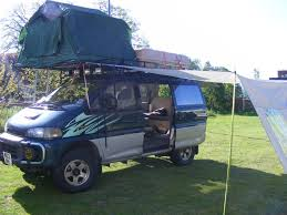 1991 mitsubishi delica delica l300 utility wagon on behance camper decorating ideas