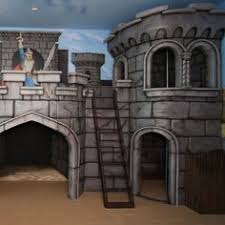 Castle Kids Room by Painting Easy Faux Castle Walls For A Child U0027s Room She Paints