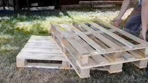 pedana pallet come realizzare una panchina con dei pallet