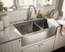 Stainless Steel Kitchen Sink Cabinet by Sinks Double Bowl 16 Gauge Stainless Steel Kitchen Sink Black