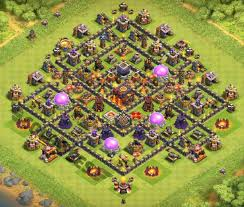 layout vila nivel 9 clash of clans top 12 best th10 hybrid base 2018 new update anti everything