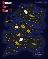 Map Of Gotham City Gotham City War Round 3 Map This Is The New Blank Map Fo U2026 Flickr