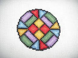 just cross stitch s needle work