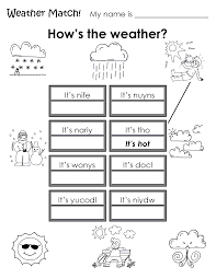 esl kids worksheet weather worksheets weather pinterest