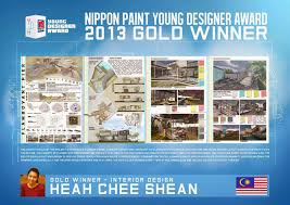 she is also an architect the nippon paint young designer award