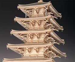 architectural model kits oldtime rakuten global market horyuji pagoda of wooden