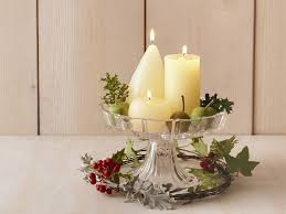 christmas candle centerpiece ideas decor yankee candles table decorations christmas lights bulbs