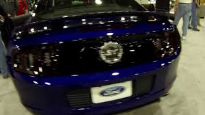 Blacked Out 2013 Mustang 2013 Mustang Gt Cs Deep Impact Blue Youtube