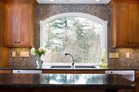Kitchen Window Design Marvin Arched Custom Window Eclectic Kitchen Boston By