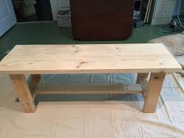 Diy Farmhouse Table And Bench 28 Farm Table Bench Plans Free Plans For Making A Rustic