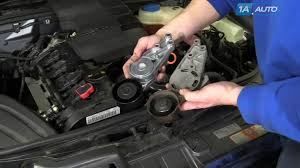 lexus ls 460 timing belt or chain how to install replace serpentine belt tensioner 2005 08 audi a4